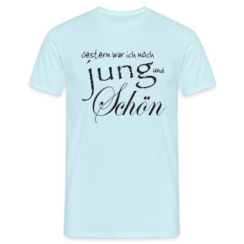 Jung und schön - Männer T-Shirt