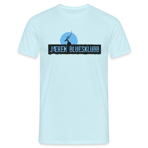 Logo jaeren bluesklubb 3500px png - T-skjorte for menn