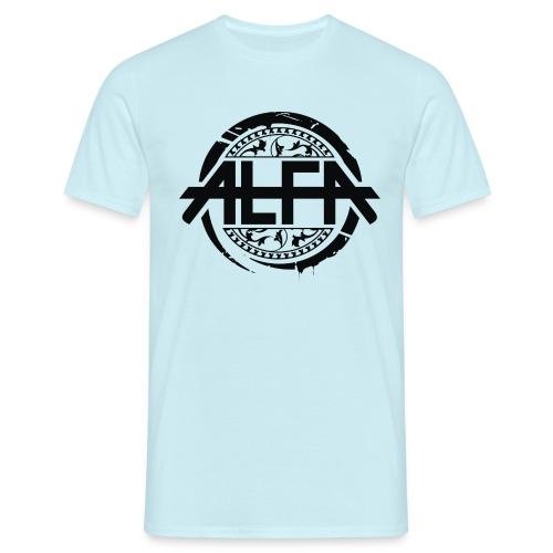 Alfa Logo - Männer T-Shirt