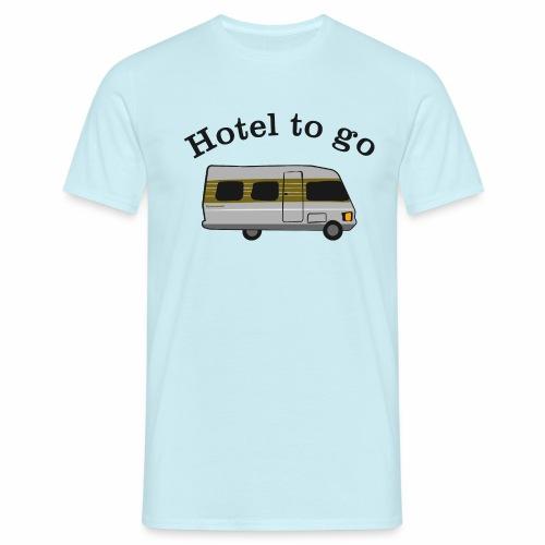 Hotel to go - Männer T-Shirt