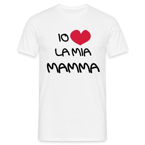 Io Amo La Mia Mamma - Maglietta da uomo