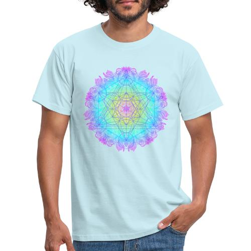 Cube de Métatron , géométrie sacré de l'archange - T-shirt Homme
