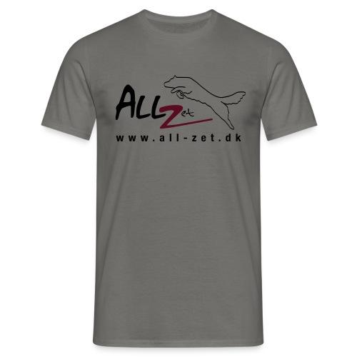 All Zet Logo - Herre-T-shirt