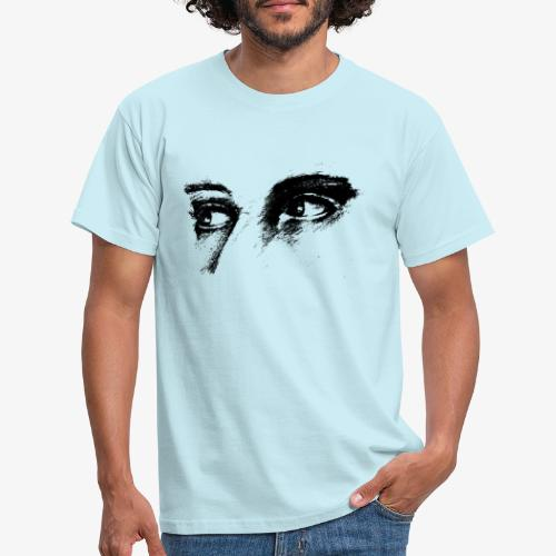 Portrait Blick - Männer T-Shirt