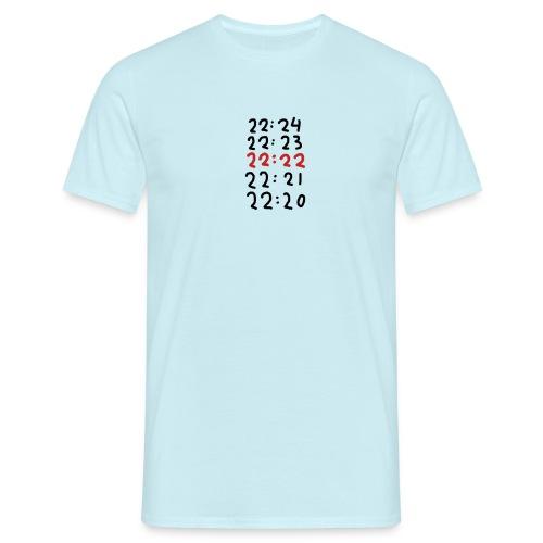 Wacht op de tijd - Mannen T-shirt