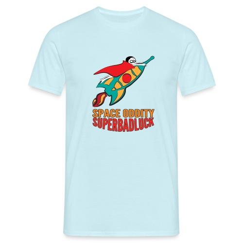 SUPERBADLUCK - SPACEODDITY - Maglietta da uomo
