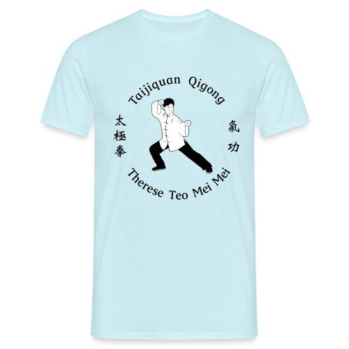 Teo Mei Mei Black Logo - T-shirt herr
