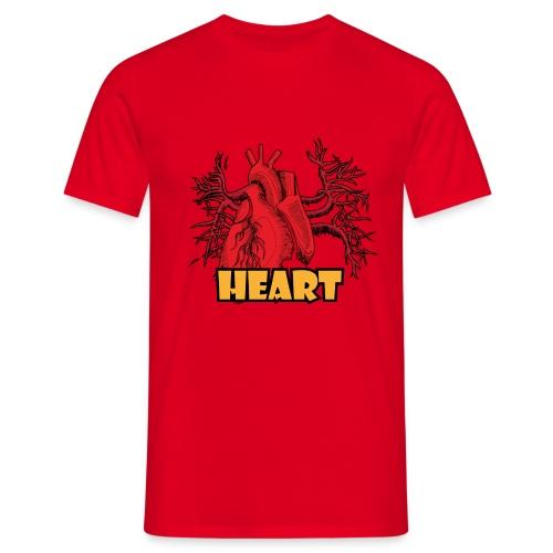HEART - Maglietta da uomo