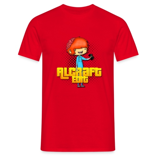 Diseño Simple AlCraft Edit - Camiseta hombre