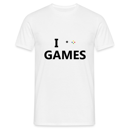 I Love Games - Camiseta hombre