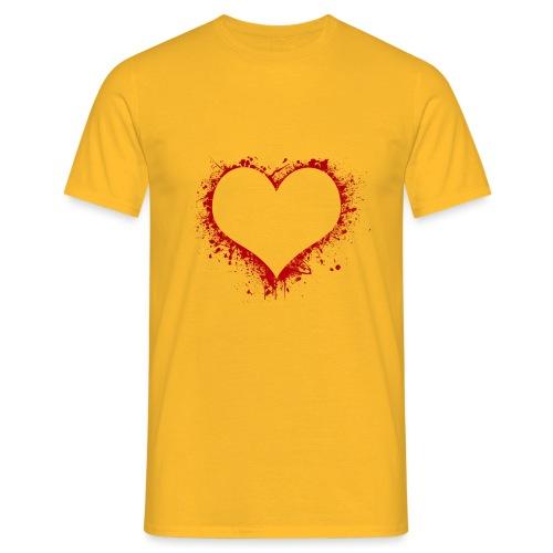 Herz/Heart - Männer T-Shirt