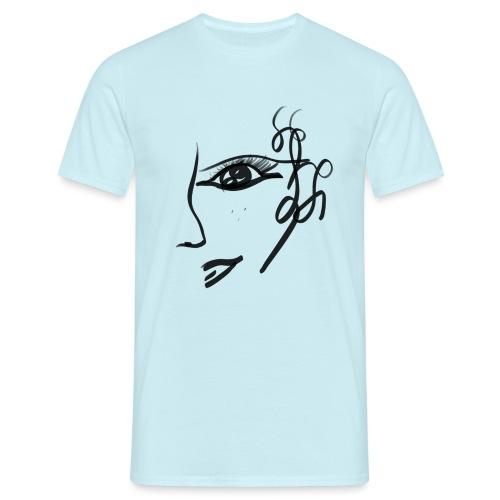 Gesicht - Männer T-Shirt