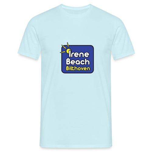 Irene Beach logo 2 - Mannen T-shirt