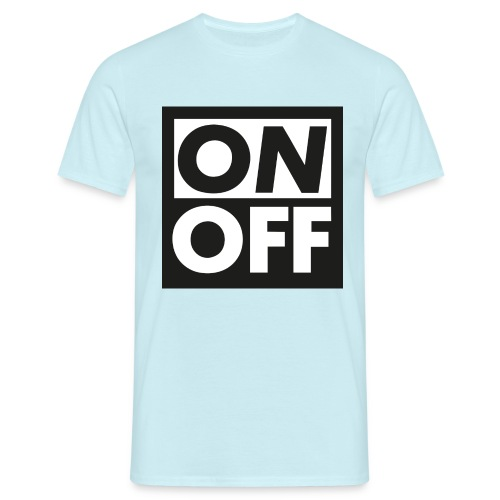 Logotype On Off Etienne Robial - Herre-T-shirt