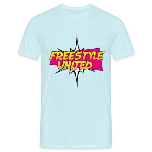 Logo Freestyle United - Mannen T-shirt