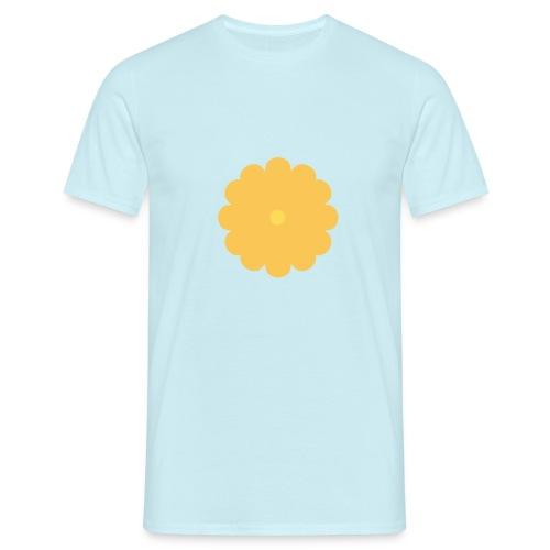 Flowerpower - Herre-T-shirt