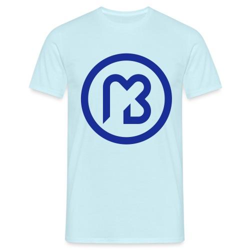 Mark Blast logo RVB macaron bleu - T-shirt Homme