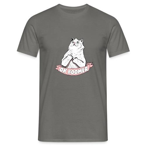 OK Boomer Cat Meme - Men's T-Shirt