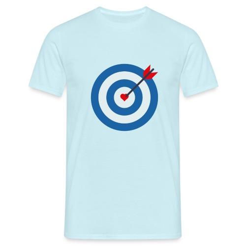 LOVE TARGET - Men's T-Shirt