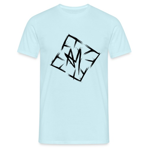 Across Yourself - Logo black transparent - Men's T-Shirt