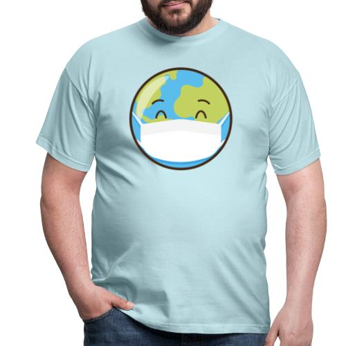 Mundo mascarilla - Camiseta hombre