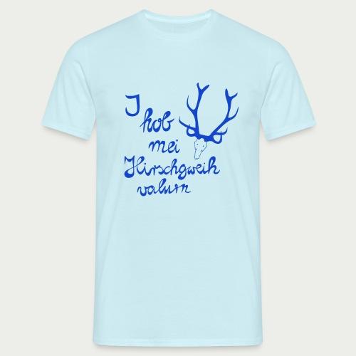 Hirschgweih valurn - Männer T-Shirt