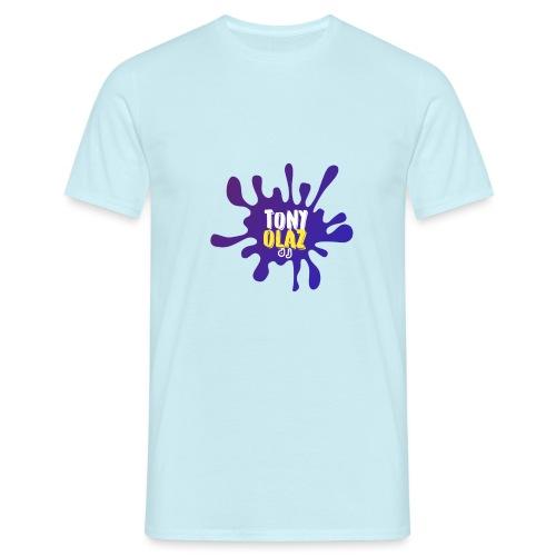 Splash morado - Camiseta hombre
