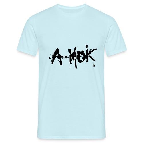 AMOK 2020 Schrift Schwarz V1 - Männer T-Shirt