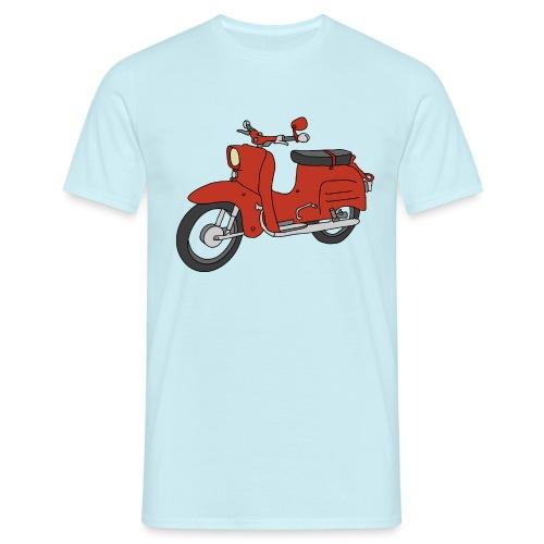 Schwalbe (ibizarot) - Männer T-Shirt