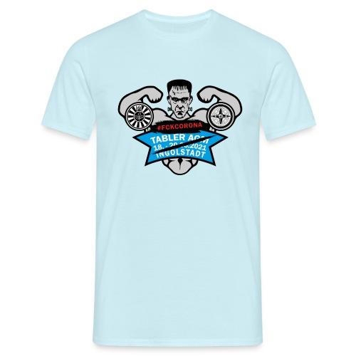 AGM 2021 Logo FCKCORONA 210406 - Männer T-Shirt