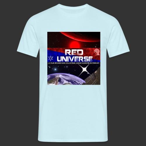 Red Universe pochette - T-shirt Homme
