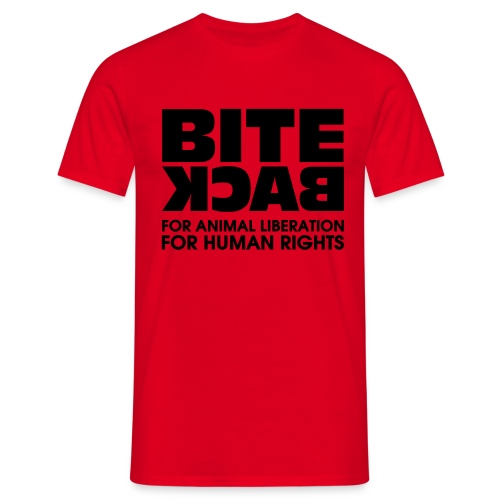 Bite Back logo - Mannen T-shirt