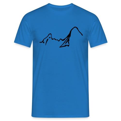 Watzmann pur - Männer T-Shirt