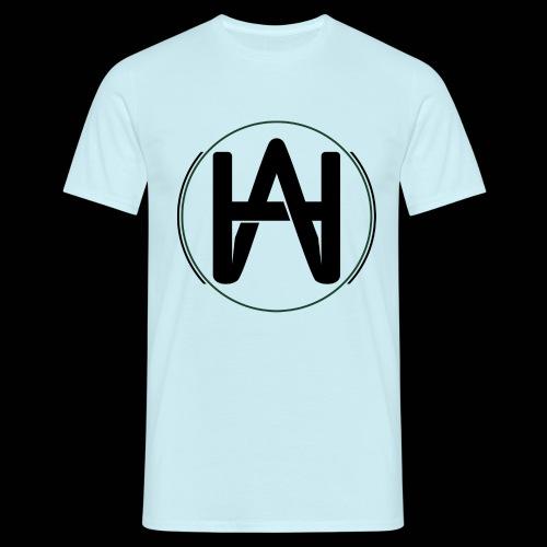 Hombre Alpha Logo Negro - Camiseta hombre