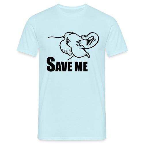 Save Me I Elefant - Männer T-Shirt