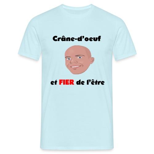 Chauve et fier - T-shirt Homme