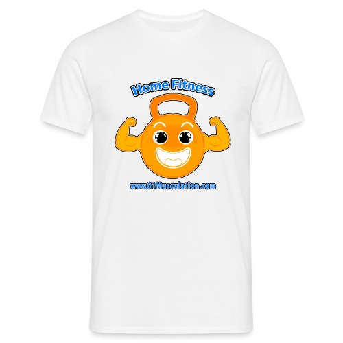 Logo 01Musculation Home Fitness Kettlebell - T-shirt Homme