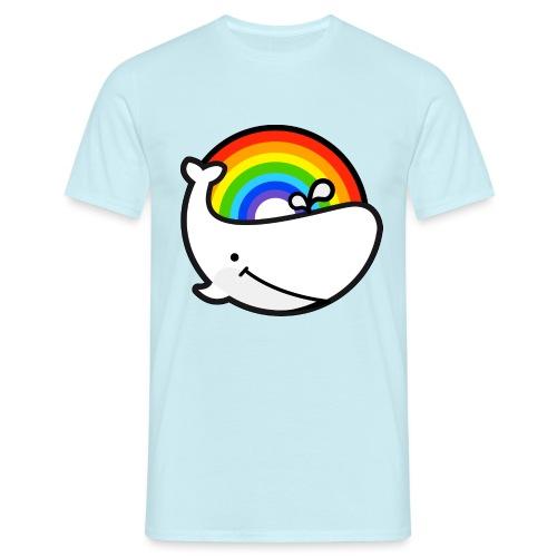 whale - T-shirt herr