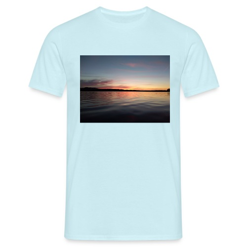 Sunset - T-shirt herr