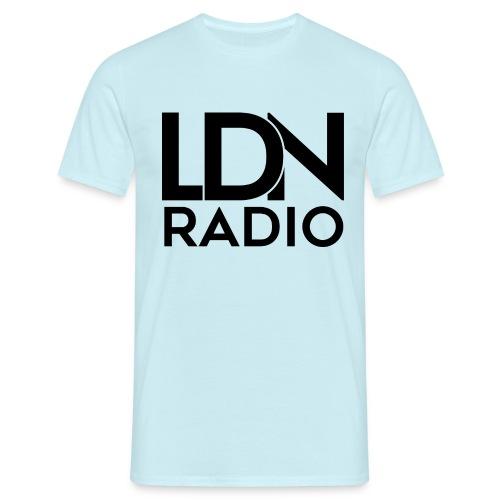 LDN Radio Logo black - Men's T-Shirt