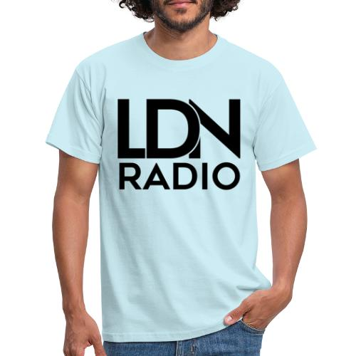 LDN Radio Logo black - Men's T-Shirt