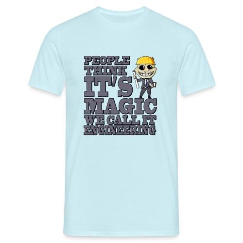 engineer - Mannen T-shirt