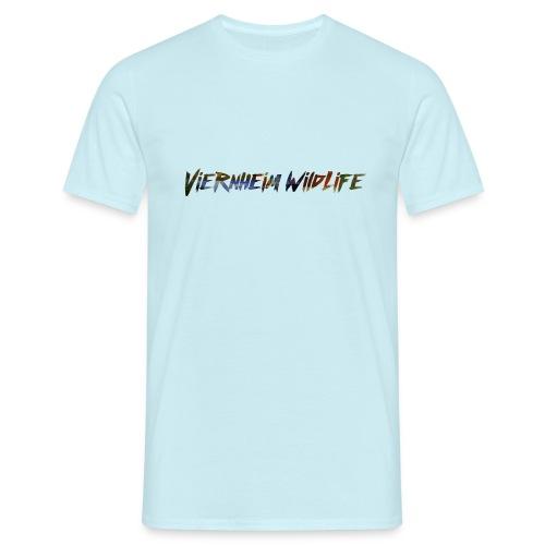 Viernheim WildLife - Logo - Männer T-Shirt