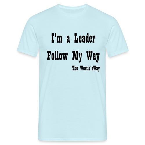 Follow My Way Black - Koszulka męska