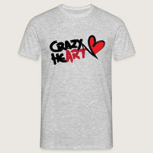 crazyheart - Maglietta da uomo