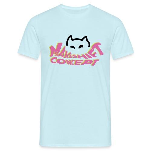 Makeshift Concept Logo Color - Männer T-Shirt