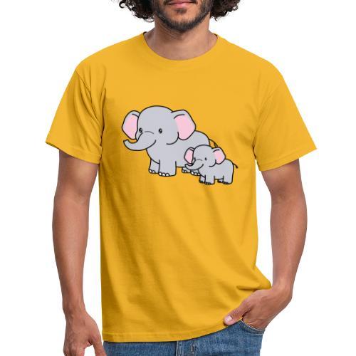 Elephants - Camiseta hombre