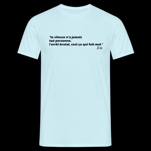 vitesse (noir) - T-shirt Homme