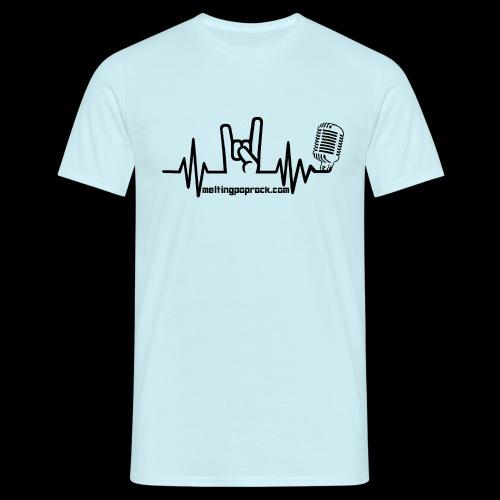 Logo + site noir - T-shirt Homme