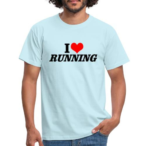 I love running - Männer T-Shirt